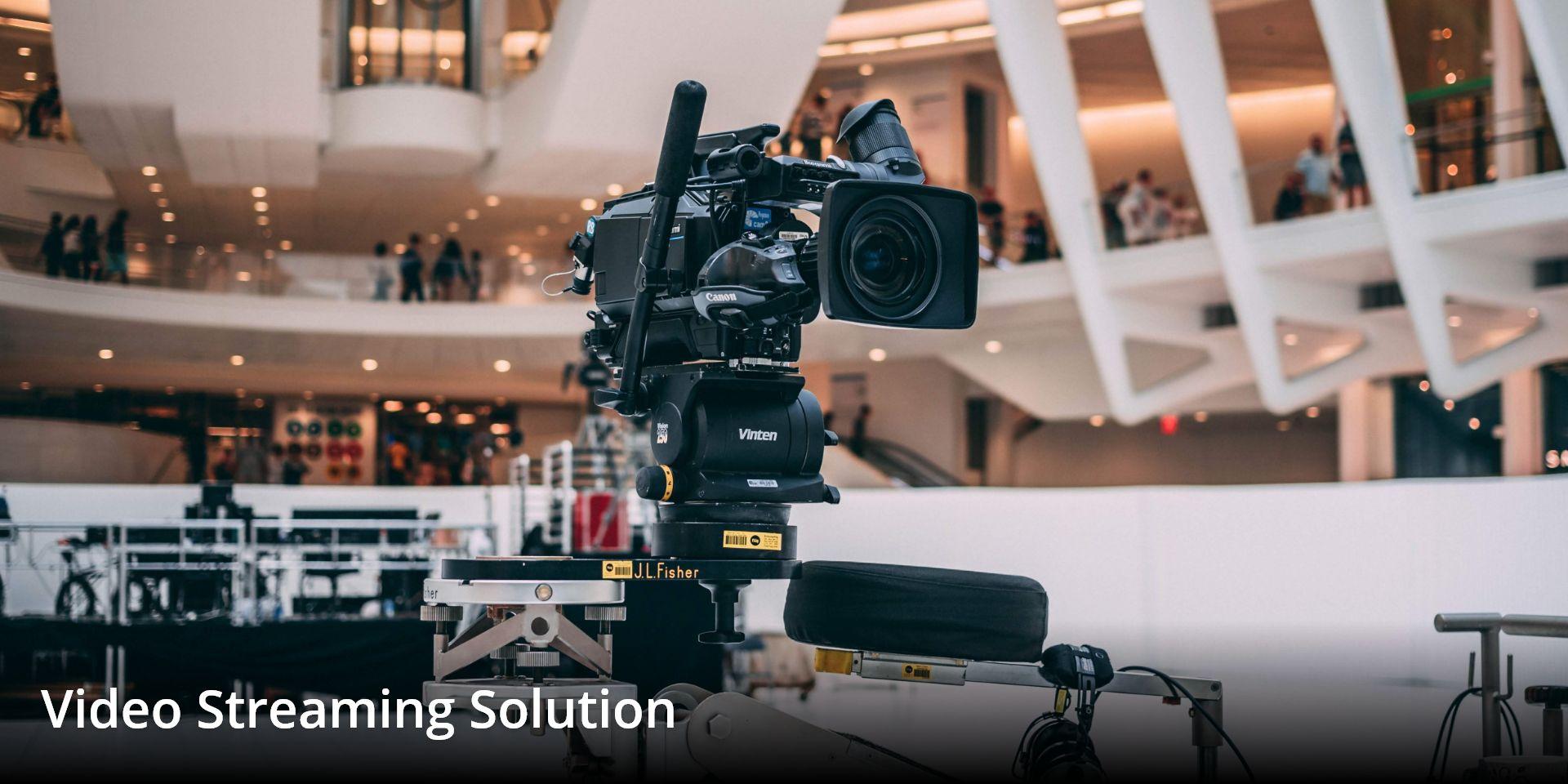 Video shooting camera setup